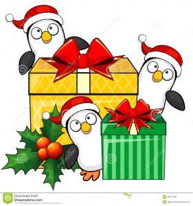 pingvini božič